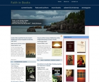 Web Design for faithinbooks.com, a Minneapolis-based Amazon affiliate.